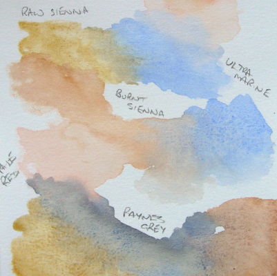 learn Watercolour, watercolour tutorial, water colour paints